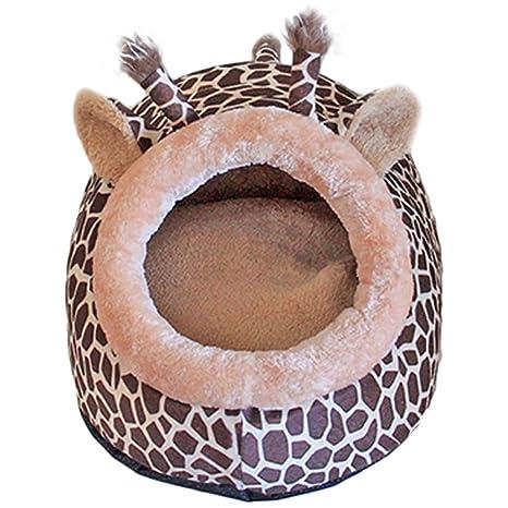 ZooBoo Cama para perro, gato o mascota, para interior o interior, diseño de
