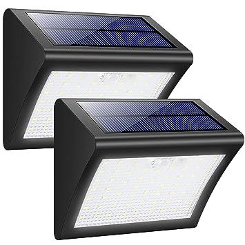 Trswyop 60 Led Lampe Solaire Extérieur avec Détecteur de Mouvement 3 ...