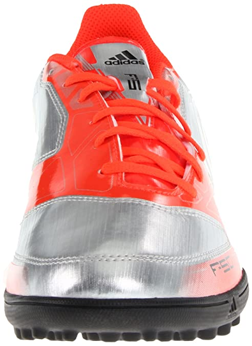 Amazon.com | adidas Mens f5 TRX tf-m, Metallic Silver/Infrared/Black, 8 M US | Soccer