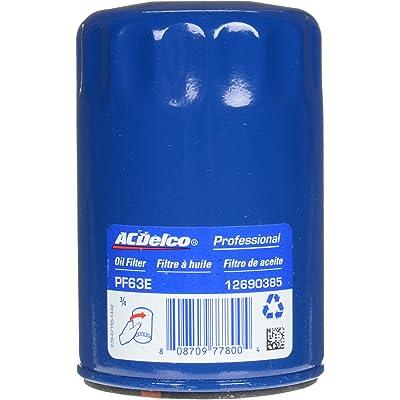 ACDelco PF63E Professional Engine Oil Filter: Automotive
