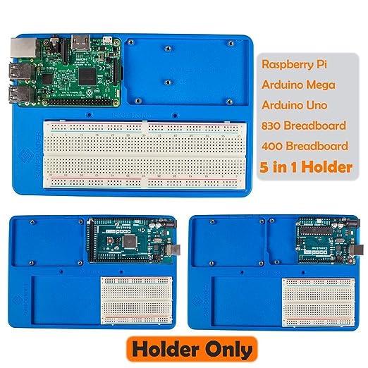 13 opinioni per SunFounder RAB 5 in 1 Breadboard Holder Base Plate Circuit Board Screws for
