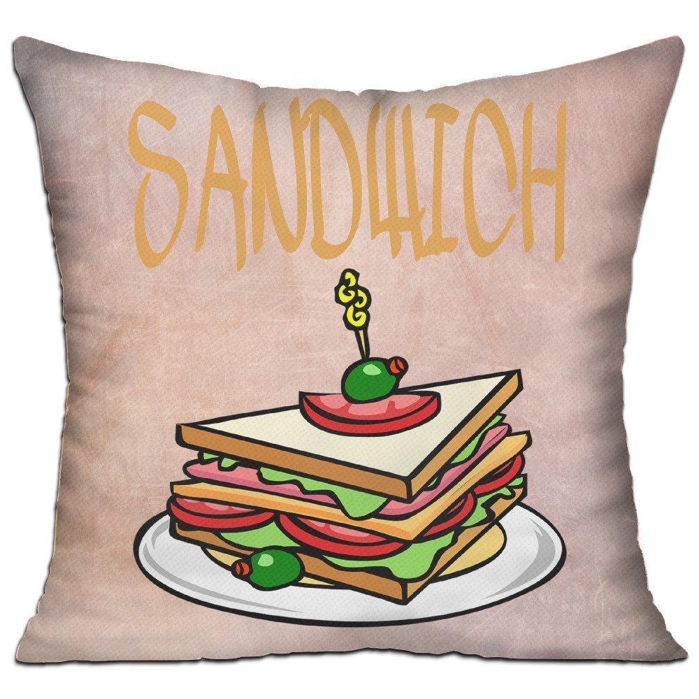 Jamón y salchicha sandwichessandwiches sofá fundas de cojín ...