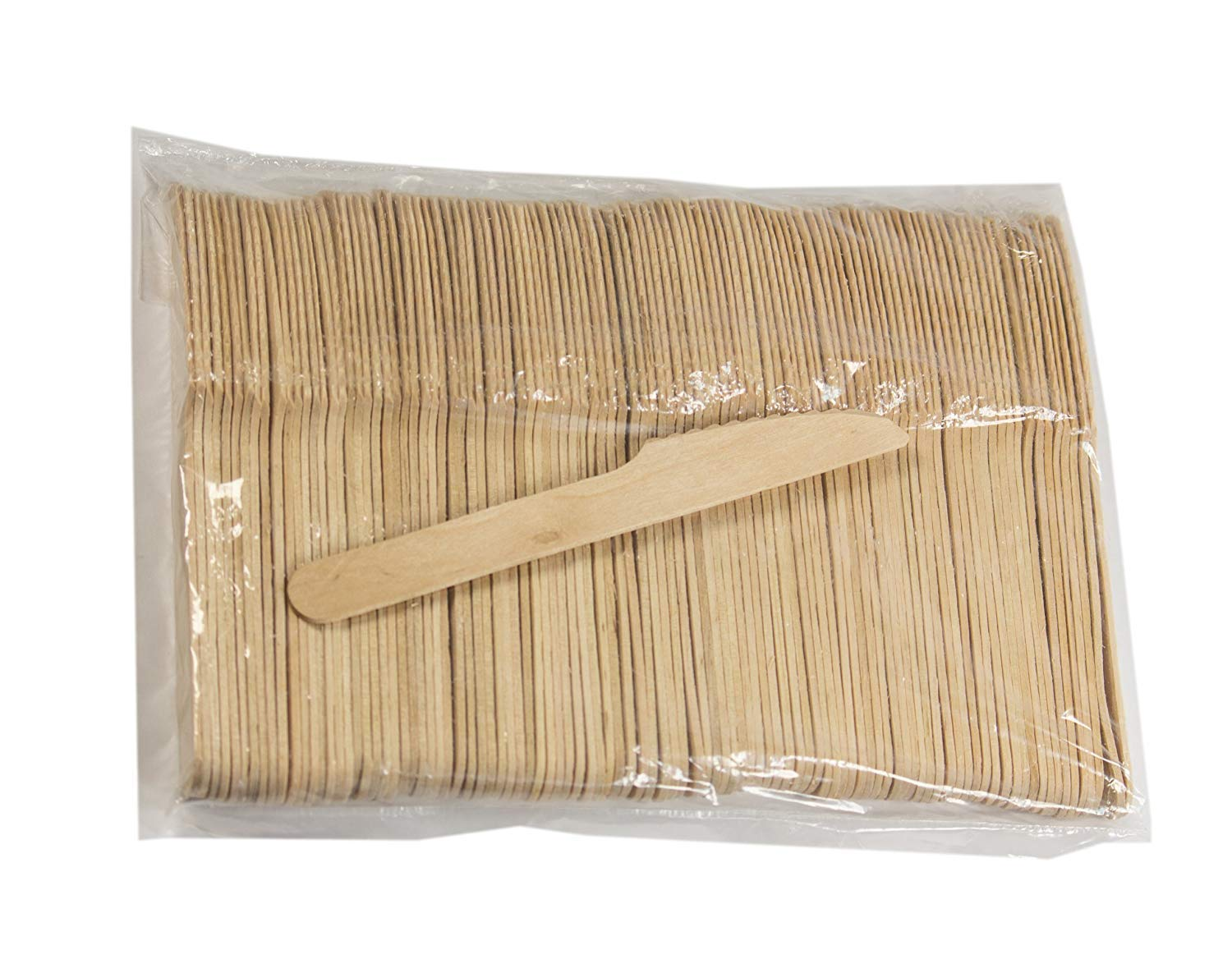 Perfect Stix Wooden Disposable Cutlery Knifes 6 length pack of 100ct
