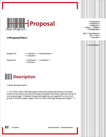 Amazon proposal pack tech 7 business proposals plans proposal pack tech 7 business proposals plans templates samples and software flashek Gallery