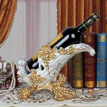 Golden_flower Cerámica Vino Shelve Champagne Estante Estante del ...