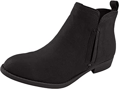 Womens Ankle Boots Flat Heel
