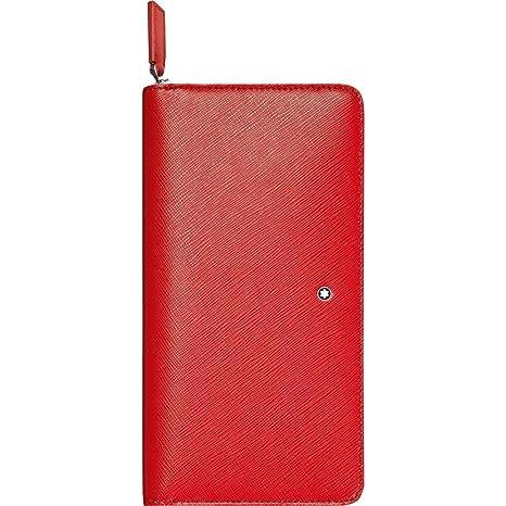 Montblanc Monedero, Rojo (Rojo) - 113251: Amazon.es: Equipaje