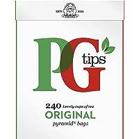 PG Tips Pyramid, originele zwarte thee met 240 zakjes