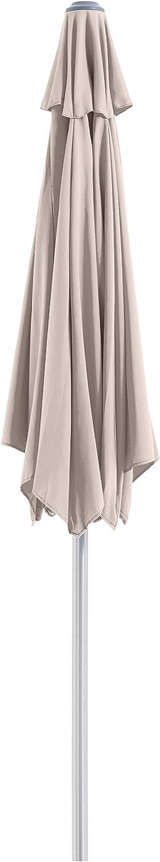 SORARA Ombrellone da Giardino /ø 300 CM Sabbia