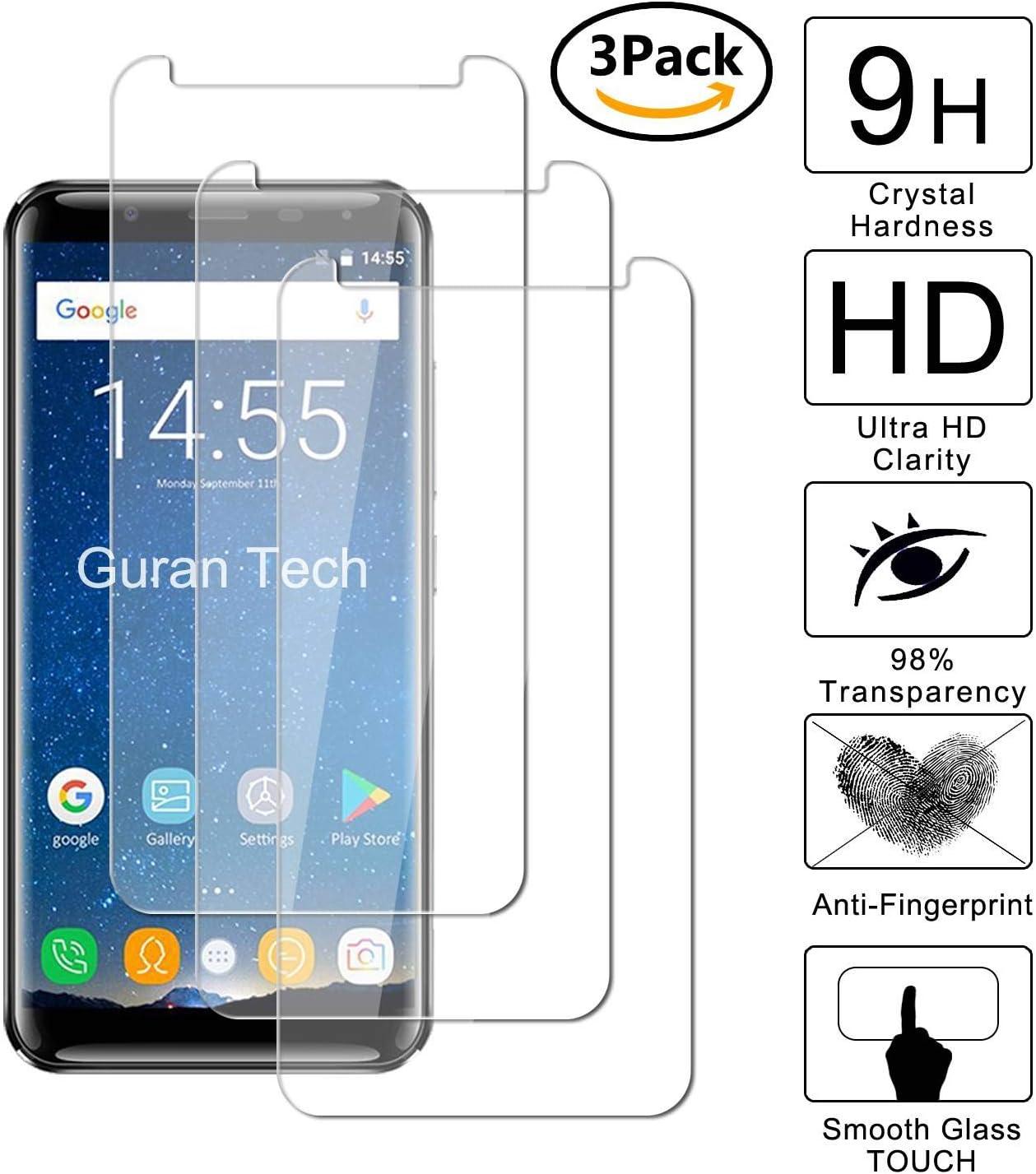 Guran [3 Unidades] Protector de Pantalla Vidrio Cristal Templado para Oukitel K5000 Smartphone Glass Vidrio Templado Film (9H, 2.5D Edge, 0.3mm): Amazon.es: Electrónica