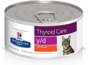 Hill's Prescription Diet y/d Thyroid Care Cat Food