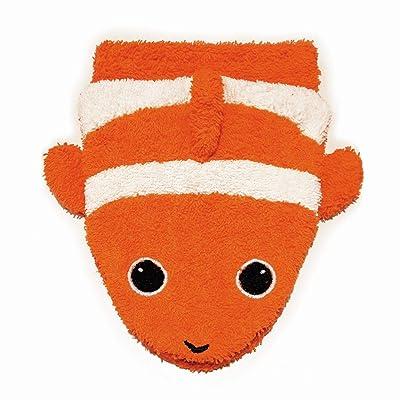 Furnis Organic Cotton, Washcloth Mitt Clownfish Puppet, Child Size: Toys & Games