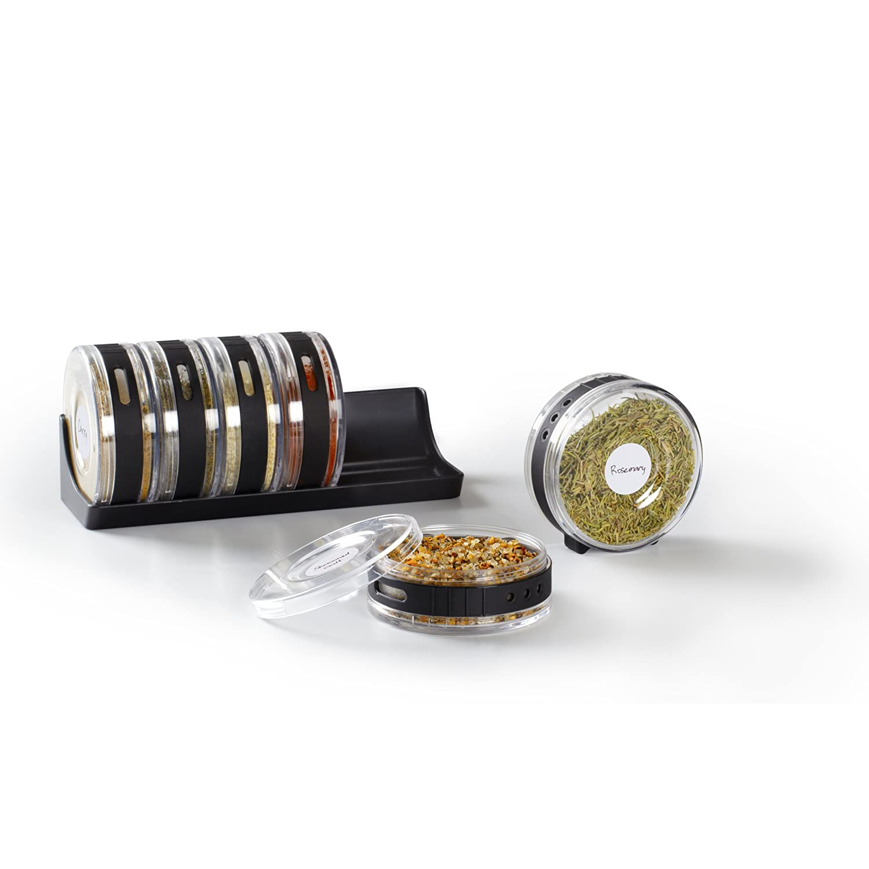 Umbra Cylindra Spice Rack, Black 330640-188