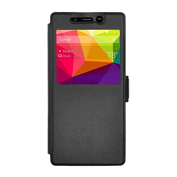 online retailer ceefe cd7fb BLU Life XL case, KuGi ® BLU Life XL case - MX style High quality  ultra-thin PU Leather Case for BLU Life XL - LTE 5.5 inch smartphone.  (Black)