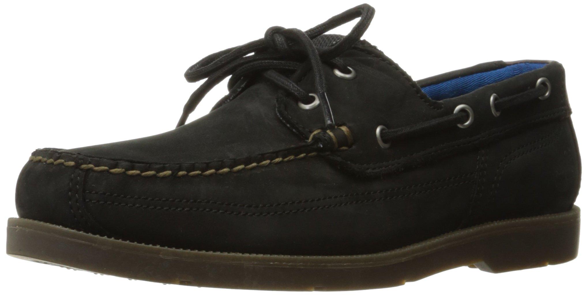 Timberland Men's Piper Cove Fg Boat Shoe, Jet Black Oiled Nubuck, 10.5 M US