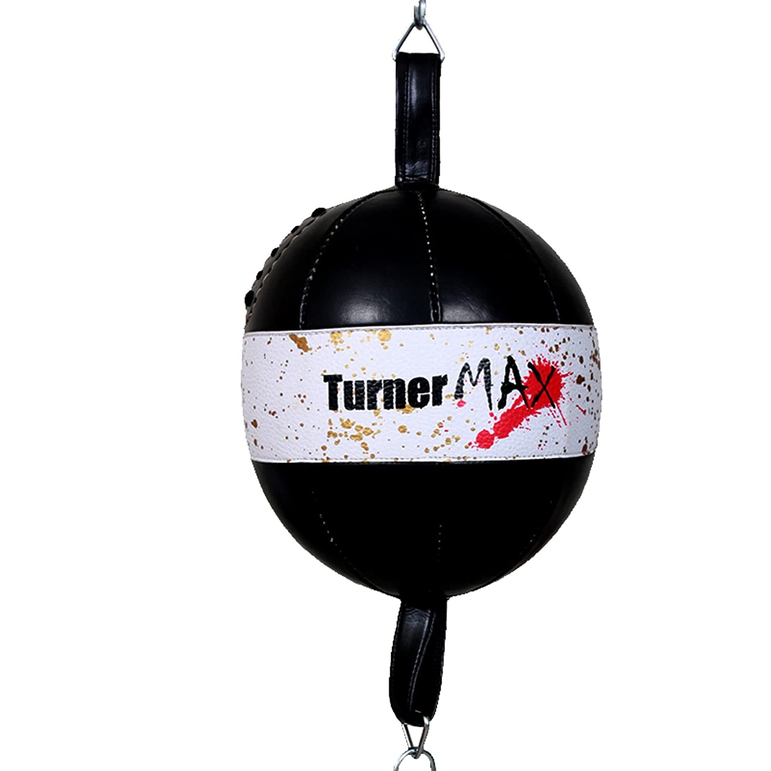 TurnerMAX Punching Ball Double éLastique Dball de Boxe en Gel pour Exercices de Boxe D'Entraã®Nement pour Sports de Combat Arts Martiaux A06916