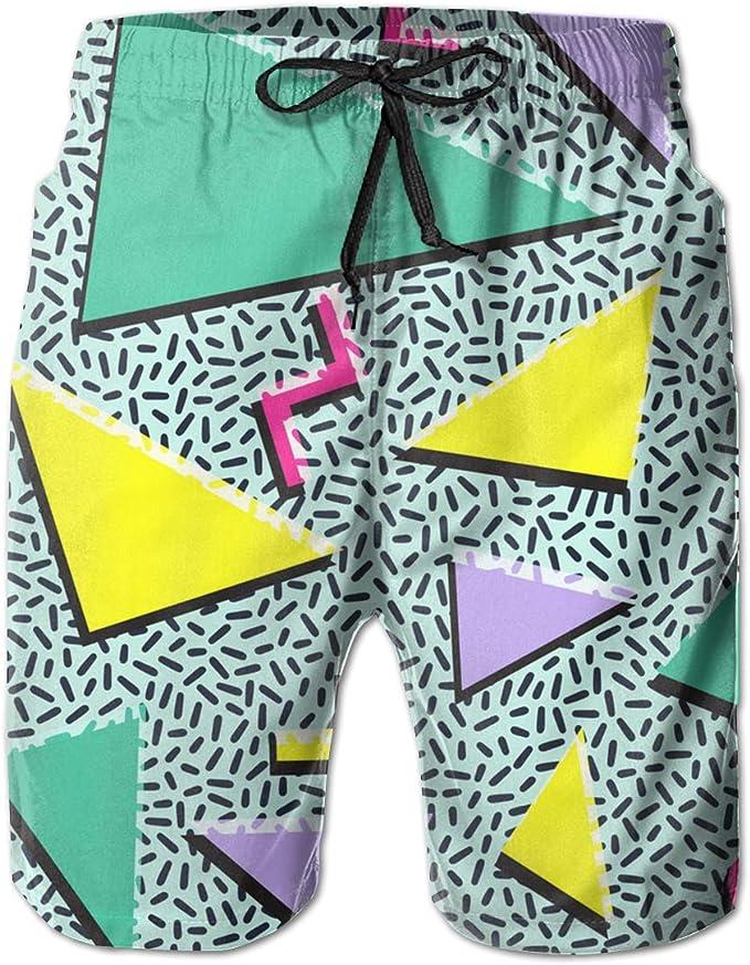 Mens Swim Trunk 3D 3D Color Printing Beach Shorts Casual Sports Ball Pants