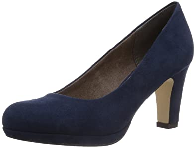 Tamaris Damen 22418 Pumps, Blau, 39 EU