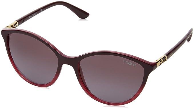Vogue 0Vo5165S, Gafas de Sol para Mujer, Opal Violet Gradient, 55