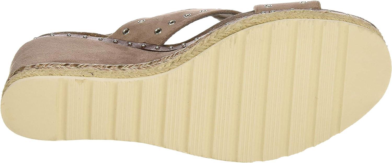 XTI 48922, Sandalias con Plataforma para Mujer Marrón Taupe Taupe