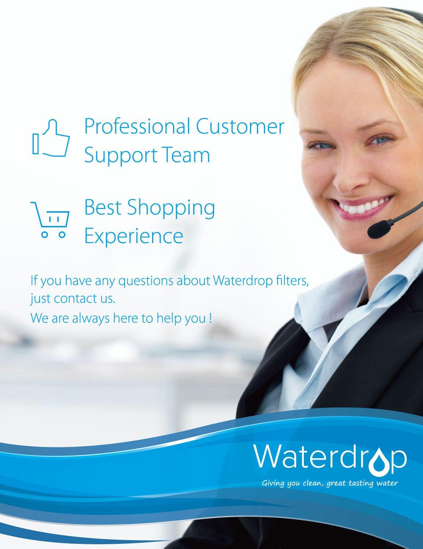 WaterDrop UKF7003 Cartucho de Filtro de Agua para Nevera//frigor/ífico 1 Maytag Jenn-Air Pur PuriClean UKF7003 UKF7001; Whirlpool EDR7D1; Smeg 763410342; Beko AP930 AP930S; Lamona HJA6100 UKF7002