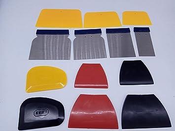 Turbo Pro - Juego de Herramientas de reparación para Pintura de Coche, espátula de Goma
