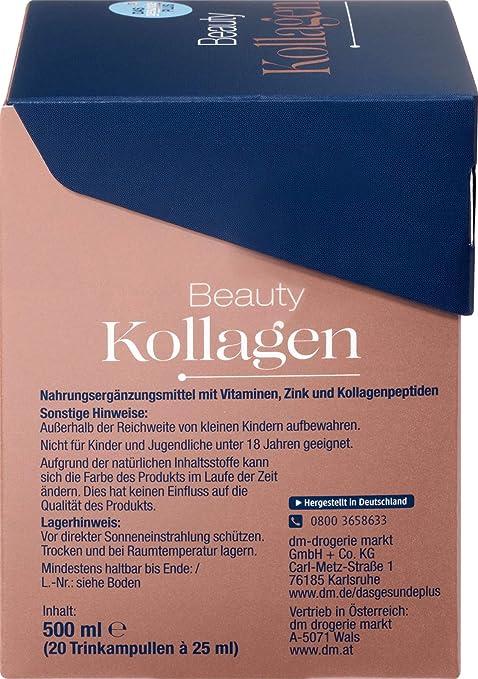 Amazon com: Beauty Collagen - Drinking Collagen, 20 ampoules