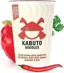 Kabuto Noodles Chilli Chicken Ramen 85 g (Pack of 6)