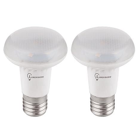 lumenbasic regulable E17 LED bombilla reflector R14 luz 4 W blanco lámpara de 60 grados