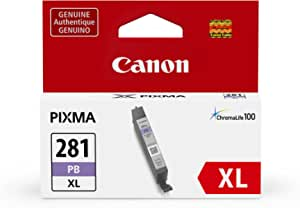 Canon CLI-281 XL Photo Blue Ink-Tank Compatible to TS9120 Series,TS8120 Series, TS8220 Series