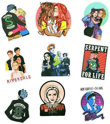 Cute Waterproof Riverdale Girl Stickers Pop/'s Sticker TV Series Sticker Jones