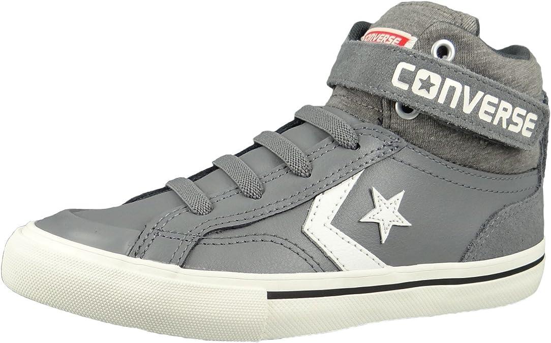 Converse Junior Pro Blaze Strap Hi Color MasonStorm WindEgret (Grey)