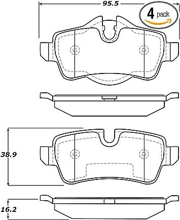 StopTech 308.05920 Street Brake Pads 4 Pack