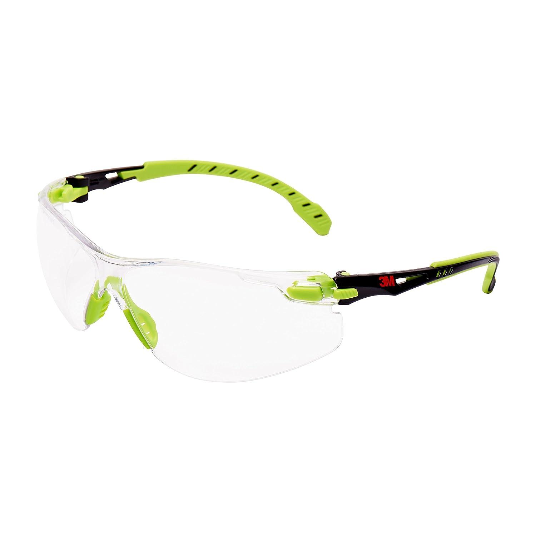 3M s1201sgaf-eu Schutzbrille Rahmen Universal, Grün und Schwarz