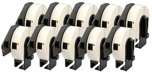 2 x DK11201 29mm x 90mm Adressetiketten kompatibel zu Brother P-Touch QL-500 QL-550 QL-560 QL-570 QL-700 QL-710W QL-720NW QL-800 QL-810W QL-820NWB QL-1050 QL-1060N QL-1100 QL-1110NWB 400 St/ück//Rolle