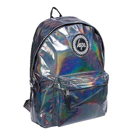 Hype Mochila – Mochila escolar – Muchos colores & Designs, Holographic Polka Black