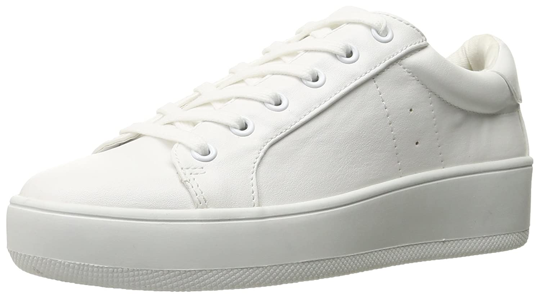Steve Madden Womens Bertie Suede Fashion Sneaker B01CJMW4SC 9 B US Womens|ホワイト ホワイト 9 B US Womens