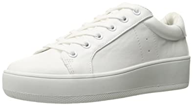 e738c1cbaae Steve Madden Women s Bertie White Athletic 5 US