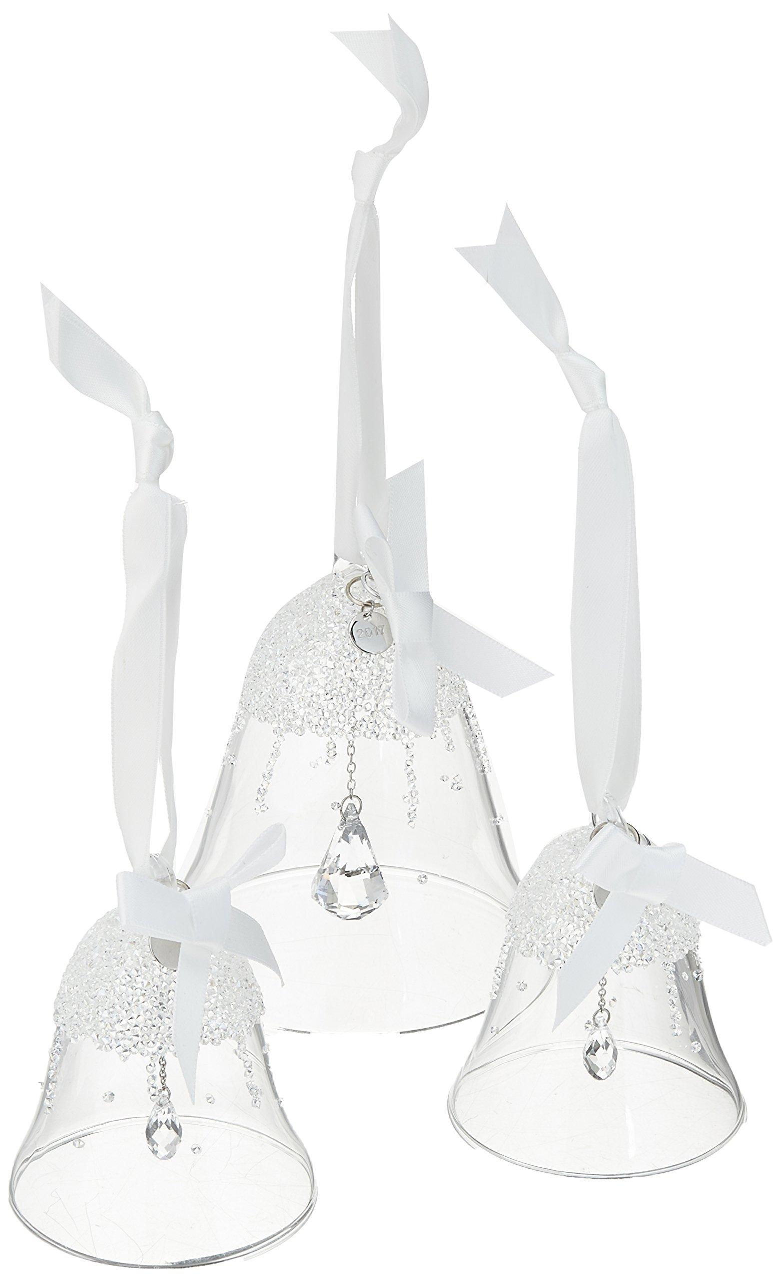Swarovski Annual Christmas Bell 2017 Ornament Set by Swarovski