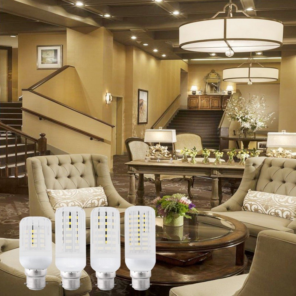 Amazon.com: 1 PC SMD Lampada LED Lamp Ampoule Bulb LED Bombillas LED Light Bulb Spot Lamparas Spotlight Emitting Color: Transparent, E9 B22 Cool White: Home ...