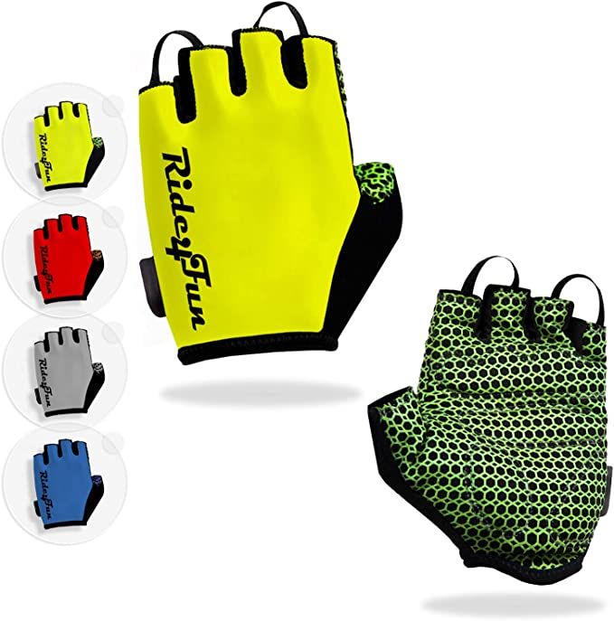 Unisex Cycling Gloves Bike Half Finger Mittens Bicycle Fingerless Mitts Warm