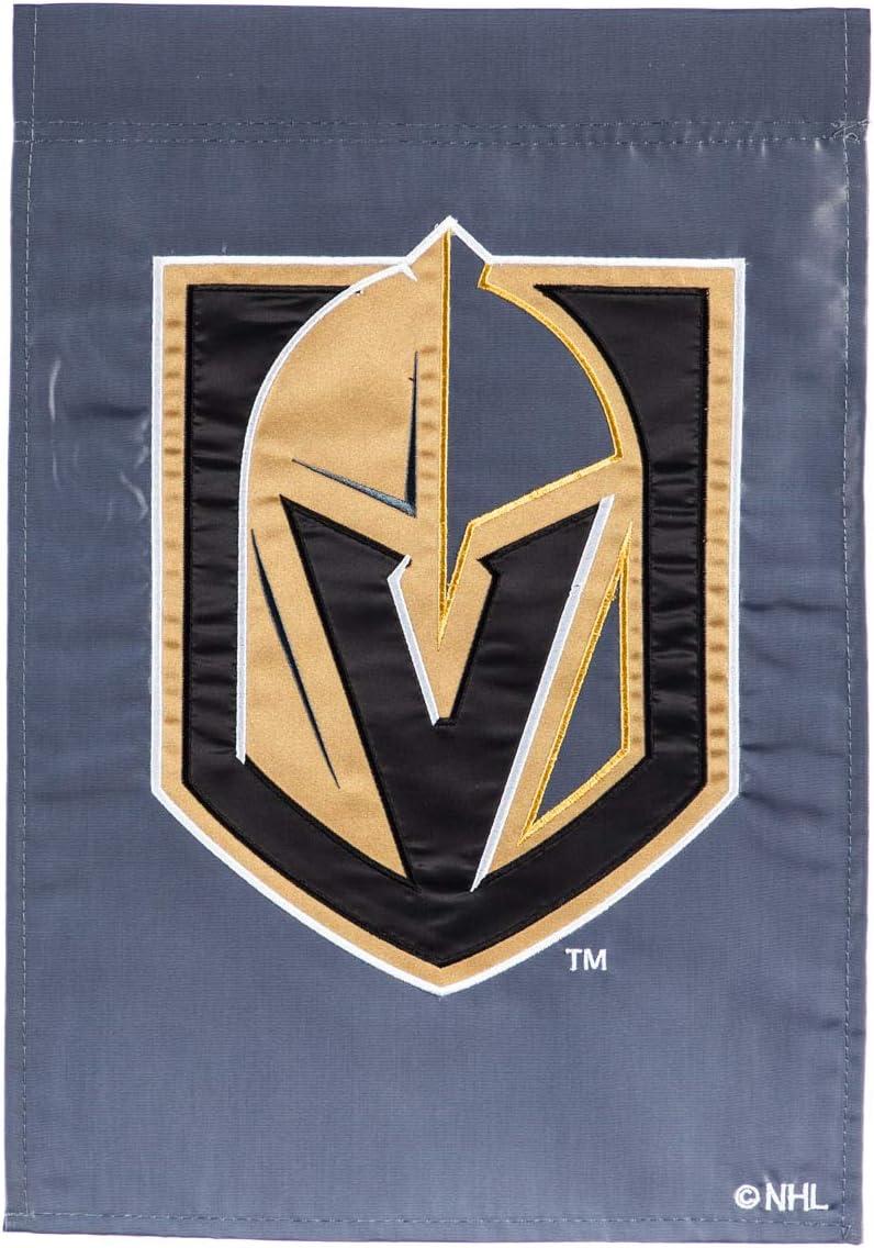 Team Sports America Applique Garden Flag Vegas Golden Knights