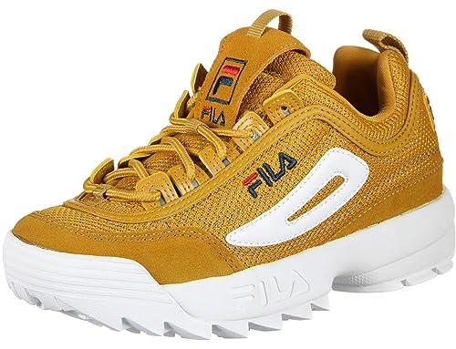 Fila Disruptor Mesh Low Inca Gold 101043860I, Deportivas: Amazon.es: Zapatos y complementos