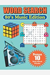 Word Search 80's Music Edition: Large Print Word Find Puzzles Paperback