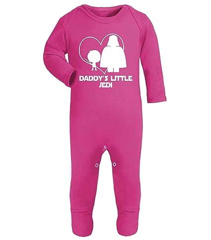 Divertido pijama tipo mono para bebé con la frase «Daddy s Little