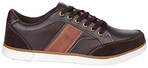 aedc37d1a47b Amazon.com: Fleet And Foster Mens Mens Stonehaven Casual Lace Up ...