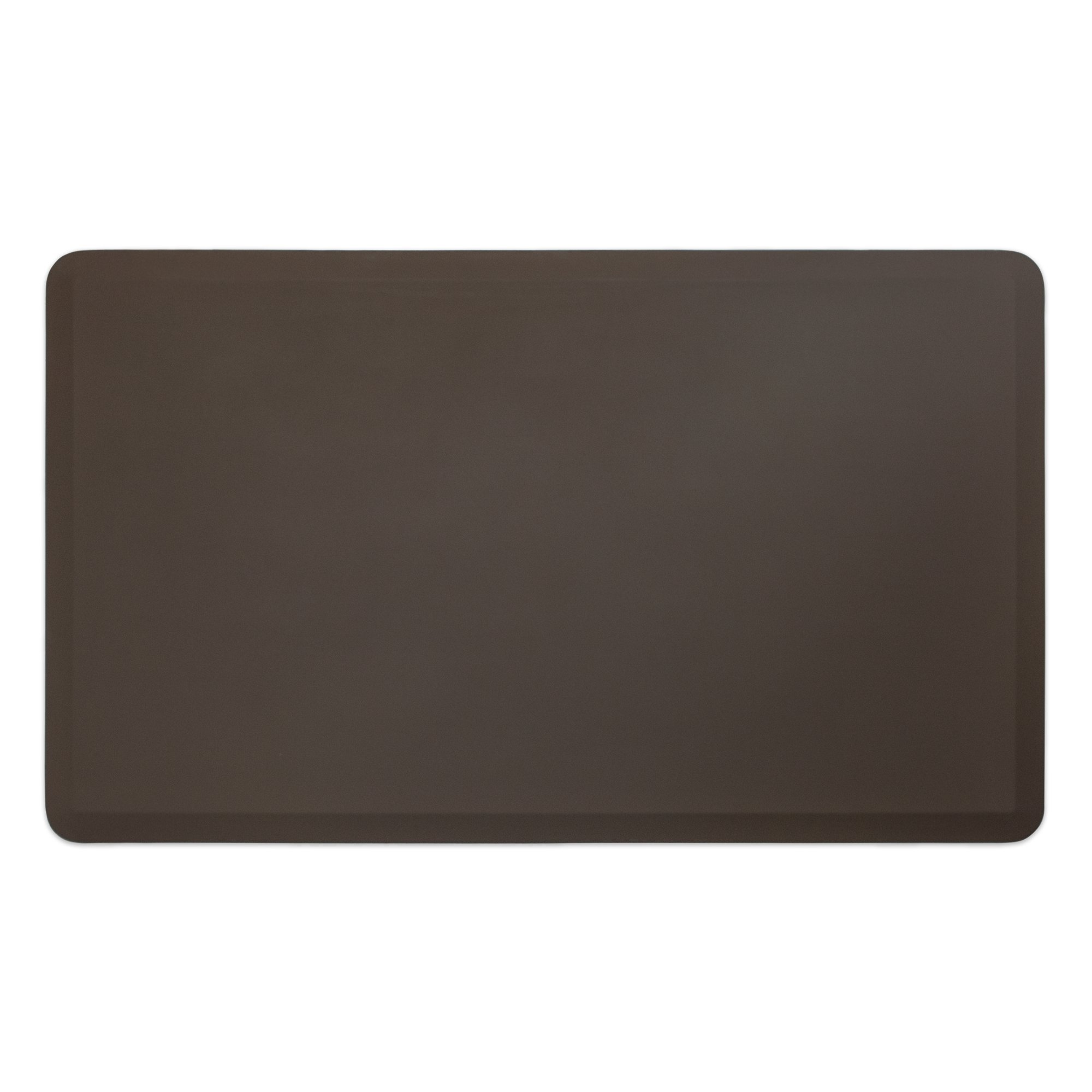 "NewLife by GelPro Professional Grade Anti-Fatigue Kitchen & Office Comfort Mat, 36x60, Earth ¾"" Bio-Foam Mat with non-slip bottom for health & wellness"