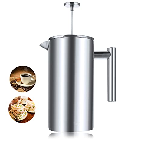 Amazon.com: anfan French Press Cafetera eléctrica – Fácil de ...