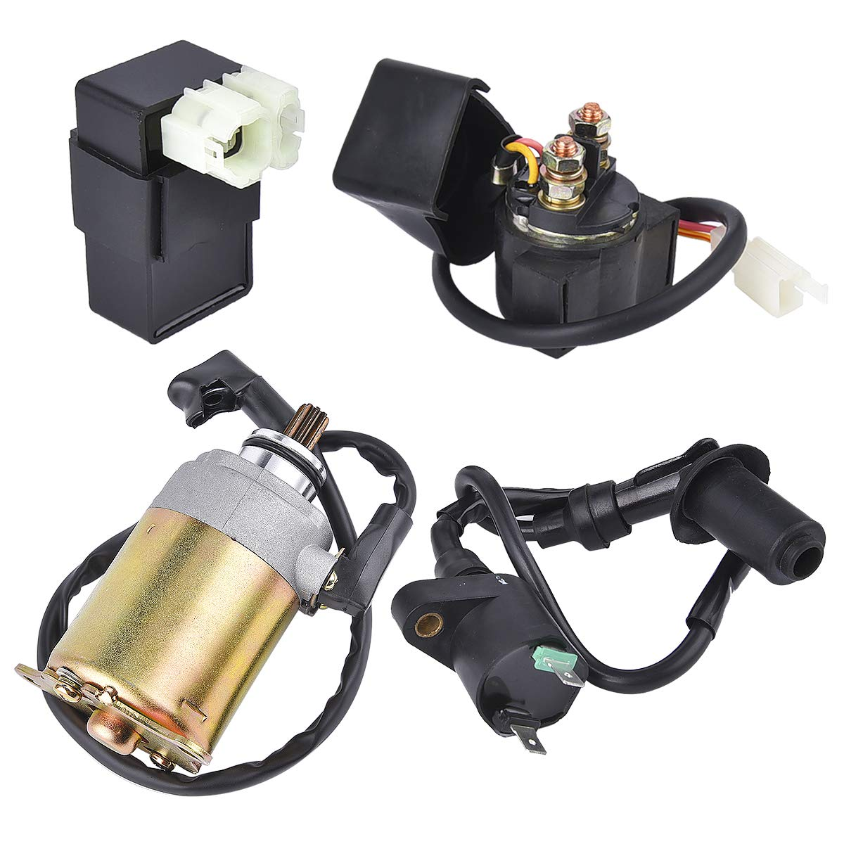 Electrical System Rebuild Kit for Carter Bros Talon Gx125IIR GX150IIR 150cc Go Kart