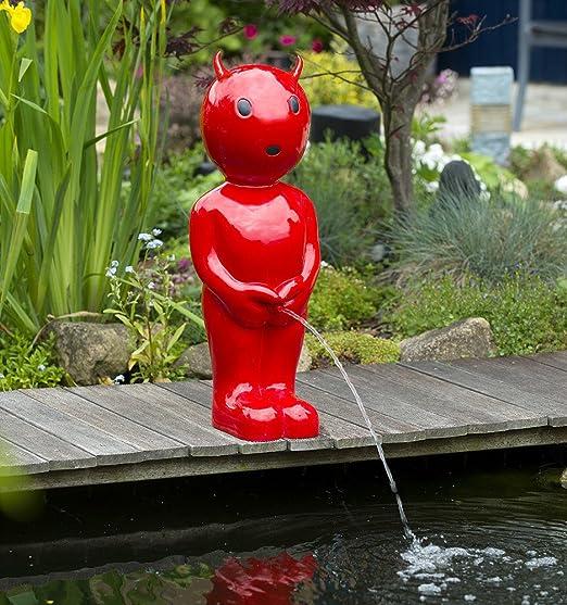 Springbrunnen Ubbink AcquaArte Boy VIII gr/ün 45,5cm Wasserspiel